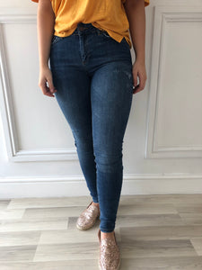 Pieces Delly Distressed Jeans