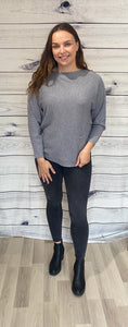Amelia Button Knit Jumper