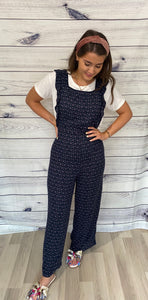 Ichi Marrakech Crossback Jumpsuit