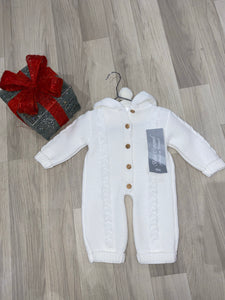 Lily Bach | Cream Knitted Pramsuit