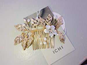 Ichi Gold Hair Slide