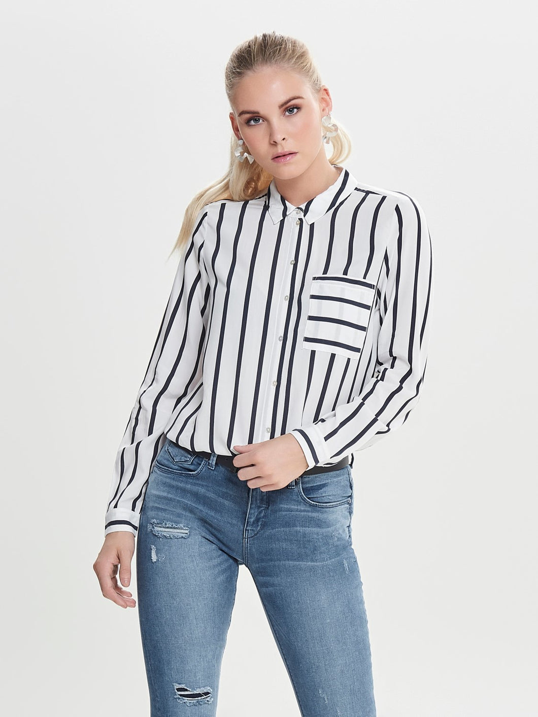 Only Stripe Shirt