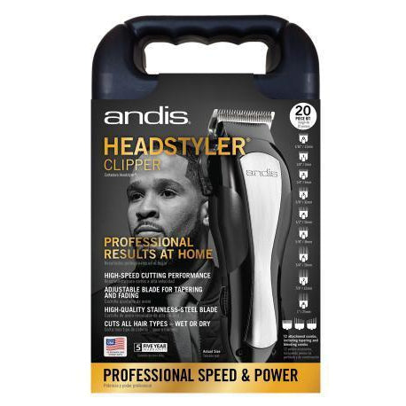 Wholesale-Andis 68100 Headstyler Clipper 20 Piece Kit-Beauty and Grooming-And-68100-Electro Vision Inc