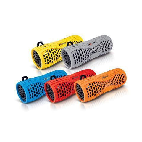 Wholesale-Axess SPBW1035 Portable Water Resistant Bluetooth Loud Speaker System-Speaker-Electro Vision Inc