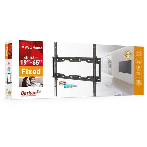 "Wholesale-Barkan E302 Fixed Wall Mount 29""- 65""-TV Mount-Bar-E302-Electro Vision Inc"