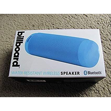 Wholesale-Billboard BB1653 Wireless Water Resistant Speaker Blue-Bluetooth Audio-Bil-BB1653-Electro Vision Inc