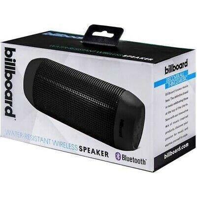 Wholesale-Billboard BB1654 Wireless Water Resistant Speaker Black-Bluetooth Audio-BB-1654-Electro Vision Inc