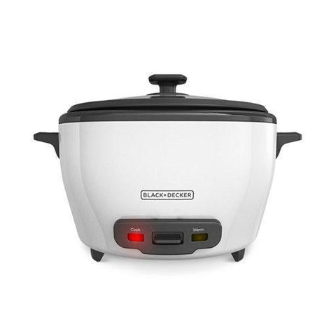 Wholesale-Black + Decker RC5280 Rice Cooker 14 Cup S. Steel-Cooker-BD-RC5280-Electro Vision Inc