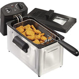 Wholesale-Hamilton Beach 35033 Deep Fryer 3L Stainless Steel-Kitchen Appliance-HB-35033-Electro Vision Inc