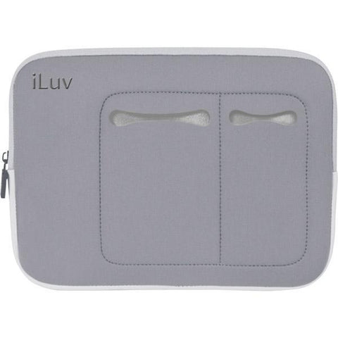 "Wholesale-iLuv ICC2010 Grey Universal Tablet Case (Fits: 7""-10.2""Tablets)-Tablet-iLu-ICC2010-Electro Vision Inc"