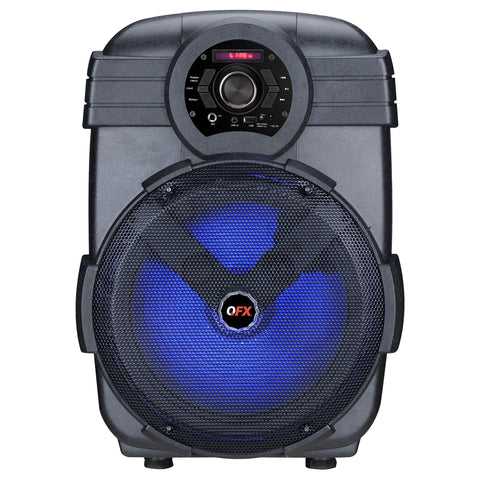 "Wholesale-QFX PBX12P 12"" Portable Party Speaker-Bluetooth Audio-QFX-PBX12P-Electro Vision Inc"