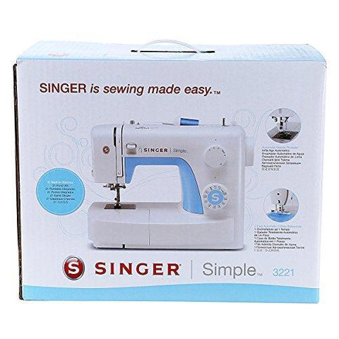 Wholesale-Singer 3221 Sewing Machine 21 Stitch-Sewing Machine-Sin-3221-Electro Vision Inc