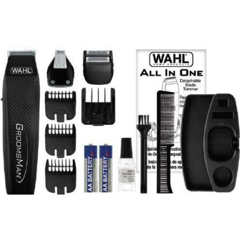 Wholesale-Wahl 5537-3008 GroomsMan All-In-One Battery Grooming Kit-Beauty and Grooming-Wah-5537-3008-Electro Vision Inc