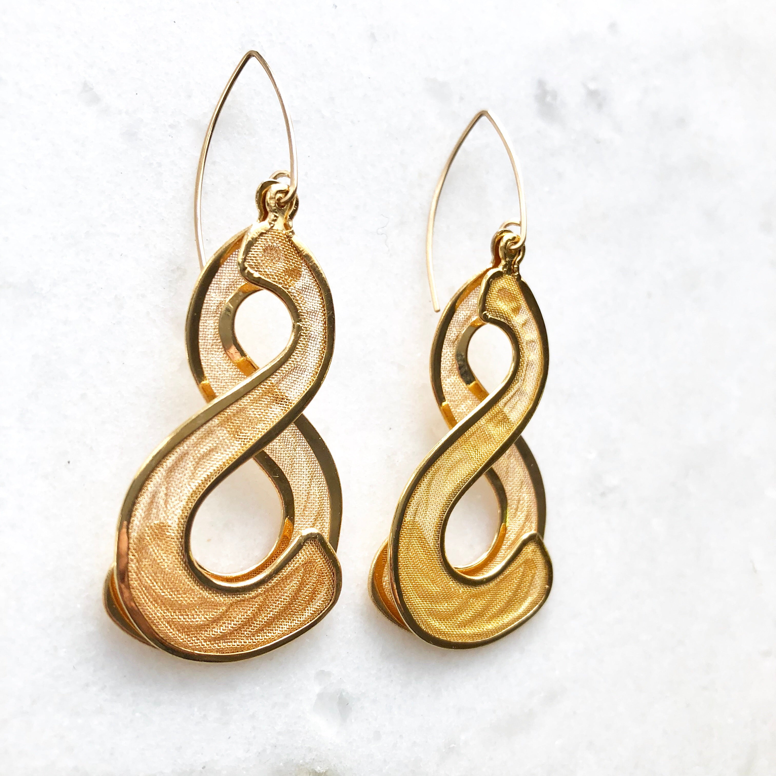 Ampersand Earrings