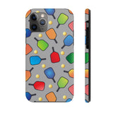 PickleBall Paddles and Balls Galore Case Mate Tough Phone Case