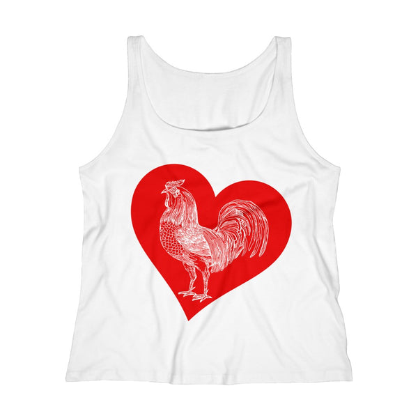 Lovin' Big ......Rooster Women's Relaxed Jersey Tank Top