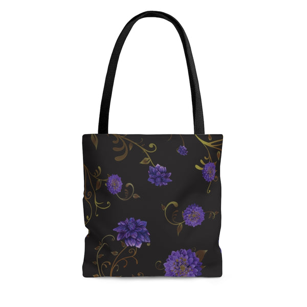 The Regal Dahlia Tote Bag