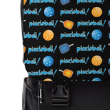 PickleBall Rows in Orange and Blue Casual Shoulder Backpack