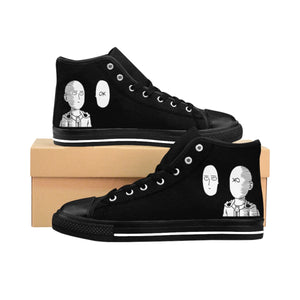 One Punch Man Women's High-top Sneakers (Liya Edition)
