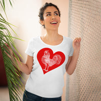 Lovin' Big .......Rooster Organic Women's Lover T-shirt