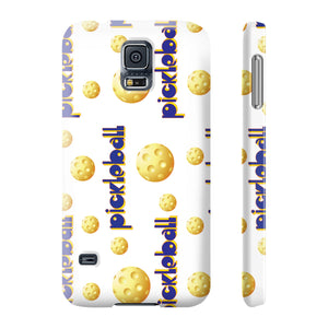 Pickleball Bingo! Slim Samsung Galaxy S5 Phone Case