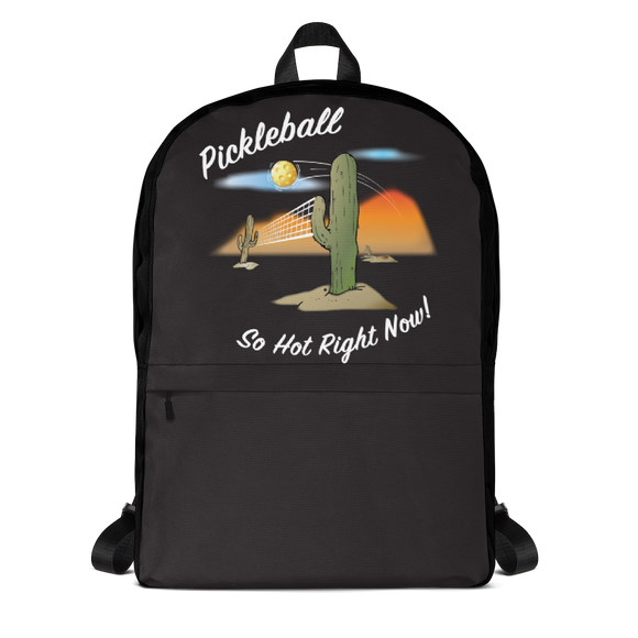 Pickleball.....It's So Hot Right Now! Backpack