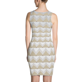 Geometric Pyramid Sublimation Cut & Sew Dress