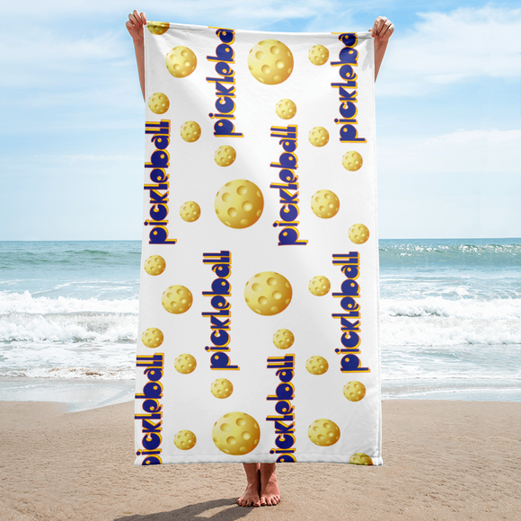Pickleball Beach Towel