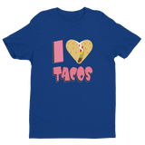 I Love Tacos Regular Short Sleeve T-shirt