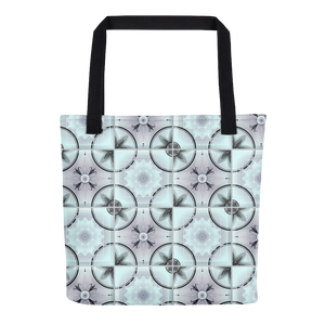 """Backsplash!"" Geometric Tile Tote bag"