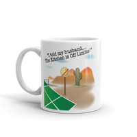 The Kitchen is Off Limits! Pickleball Mug