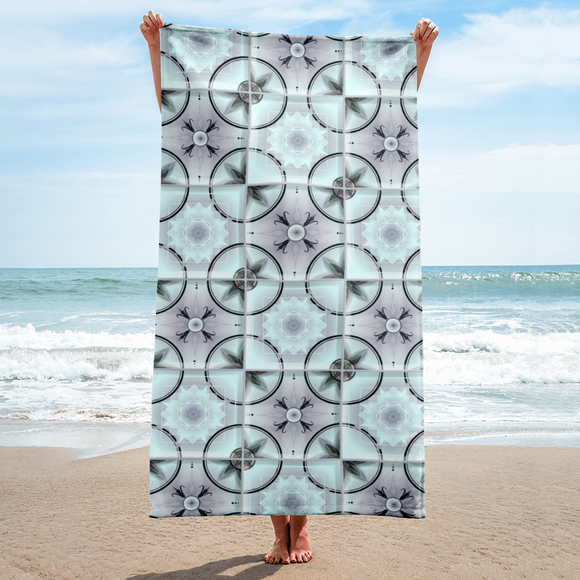 Backsplash Tile Beach Towel