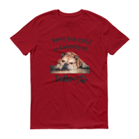 Cute Bulldog Short-Sleeve T-Shirt