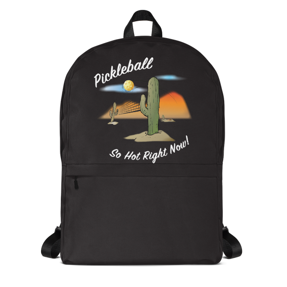 Pickleball....So Hot Right Now! Backpack