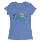 Pickleball Perfection! Ladies' short sleeve Triblend t-shirt