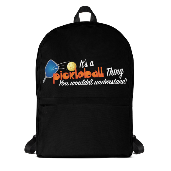 It's a Pickleball Thing! Backpack