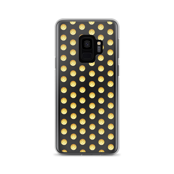 Pickleball Polka in yellow on black! Samsung Case
