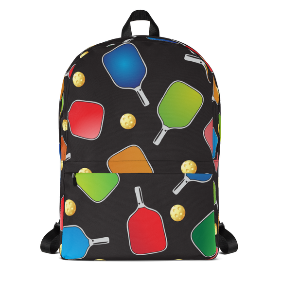 Pickleball Paddles and Balls Backpack
