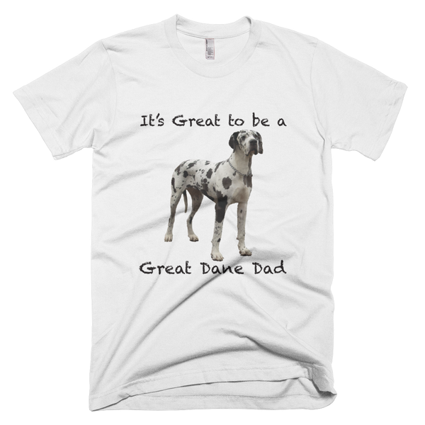 Great Dane Dad Short-Sleeve Men's T-Shirt
