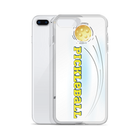 Pickleball in the Clouds iPhone Case