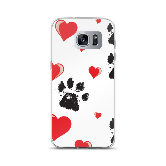 Paws and Hearts Samsung Case