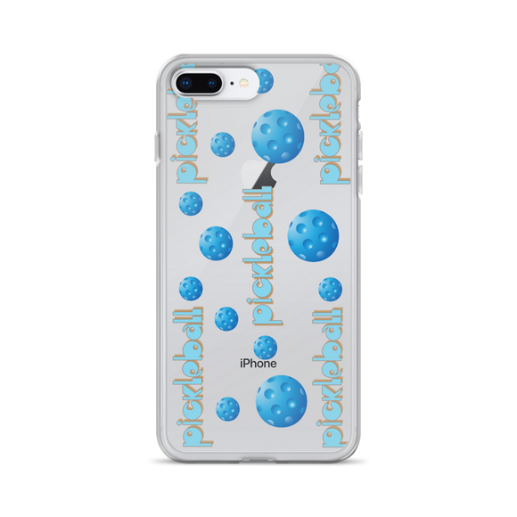 Picklebal Bingo in Blues iPhone Case