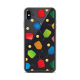 PickleBall Paddles and Balls iPhone Case