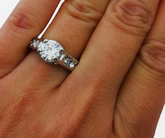 Engagement Ring Promise Ring Wedding Band Bridal Jewlery 1.00ct *US Seller - DKGifts.com