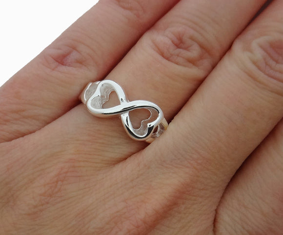 Infinity Ring Love Wedding Ring Statement Ring Friendship Ring **USA Seller - DKGifts.com