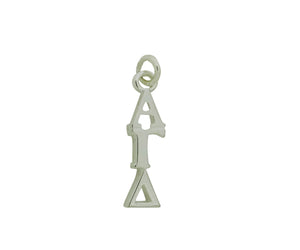 Alpha Gamma Delta Greek Sorority Lavalier Charm Drop Necklace - DKGifts.com
