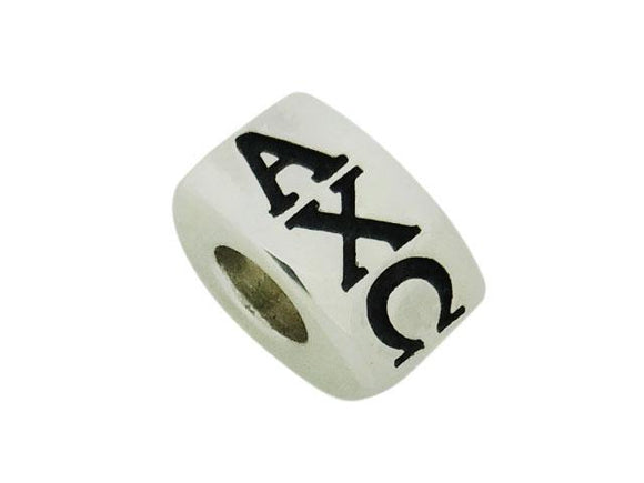 Alpha Chi Omega Letter Greek Sorority Bead European Big Hole Bead - DKGifts.com