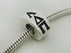 Alpha Delta Pi Letter Greek Sorority Bead European Big Hole Bead - DKGifts.com