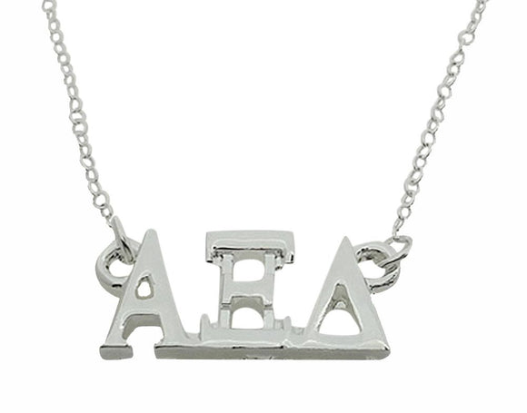 Alpha Xi Delta Floating Sorority Lavalier Necklace - DKGifts.com