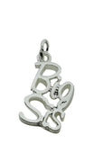 Big Sis Greek Sorority Lavalier Charm Drop Necklace - DKGifts.com